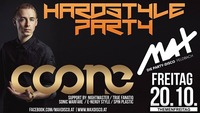 Hardstyle Party // MAX presents COONE live //@MAX Disco