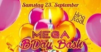 B-Day Bash Juli August September 2017