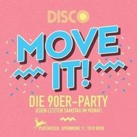 MOVE IT - die 90er Fete@Platzhirsch