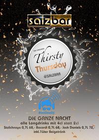 Thirsty Thursday/OnlineDJ @Salzbar