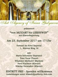Von Mozart bis Gershwin@Festsaal im Hotel Imperial