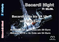 BACARDI NIGHT@Infinity Club Bar