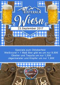 Hinteralm Wiesn Oktoberfest