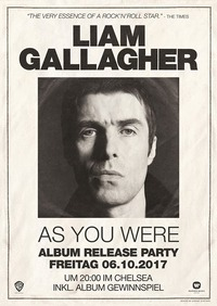 Liam Gallagher Album Release Party@Chelsea Musicplace
