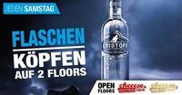Jeden Samstag - Flaschen Köpfen auf 2 Floors@Cheeese