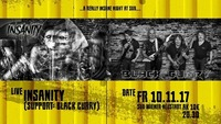Live: Insanity / Support: Black Curry@SUB