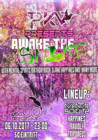 PKV presents: Awake The Snake@The ZOO Music:Culture