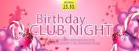 Birthday Club Night@Mondsee Alm
