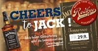 Cheers to Jack!@Rockys Music Bar