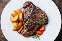 Steakgenuss im Huth da Moritz@Huth Da Moritz