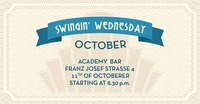 Swingin' Wednesday October!@academy Cafe-Bar