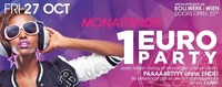 Monatsende 1€ PARTY@Bollwerk
