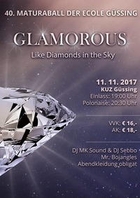 Glamorous - Like Diamonds in the Sky@Kulturzentrum
