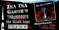 Early punk show:★Zsa Zsa Gabor's ★Higgins ★Degradace ★Black Tape@Weberknecht