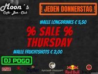 Sale Thursday@Moon's
