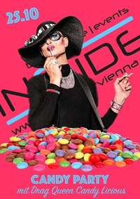 Candy Party mit Drag Queen Candy Vicious@Inside Bar
