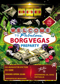 Pre-Party Borg Monsberger - BORG VEGAS