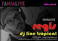 DJ Regis Brasil Tropical Beat@Fania Live