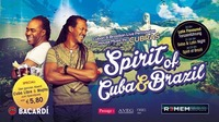 Latin Flavoured Special - Cubras LIVE & After Party