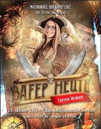 Bafep heute, Captain Morgen - Maturaball der Bafep Linz@Palais Kaufmännischer Verein