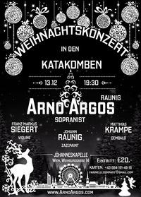 Weihnachtskonzert in den Katakomben mit Arno Argos@Johanneskapelle