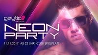Gaytic - Neon Party@Club Spielplatz