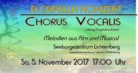 A CAPELLA CHORKONZERT CHORUS VOCALIS@Seelsorgezentrum Lichtenberg