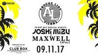 Andere Liga feiert mit Joshi Mizu & Maxwell 187erz - 09.11. BOX@BOX Vienna