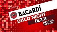 Bacardi Disco Night - Fr, 3.11 - ZICK ZACK