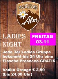 Ladies Night@Manglburg Alm