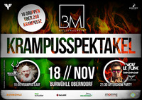 1. Krampusspektakel & Aftershow-Party@Landgasthaus BURMÜHLE