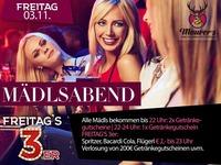 Mädlsabend & Freitag's 3er@Maurer´s
