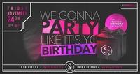 It's Yo Birthday x 24/11/17@Scotch Club