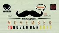 Mustache Sauvage VOL7 - Movember@Wildwechsel