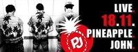 Pineapple John →18.11.2017→rockBAR@rock.Bar