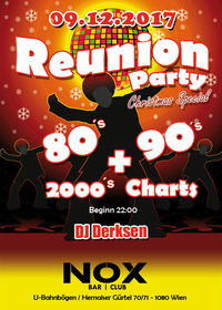 REUNION-PARTY 80's, 90's, 2000's + Charts