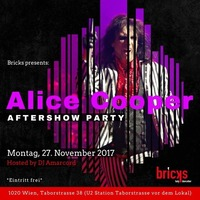Alice Cooper Aftershowparty@Bricks - lazy dancebar