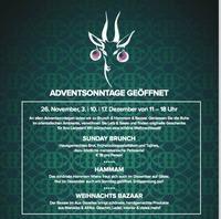 Adventsonntage: Brunch, Hammam & Bazaar@Aux Gazelles