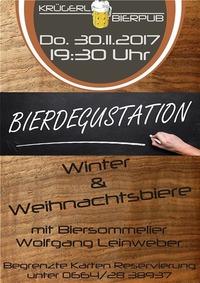 Bierdegustation@Bierpub Krügerl