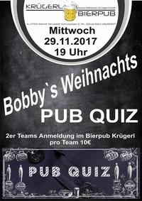 Bobby's Weihnachts Pub Quiz@Bierpub Krügerl