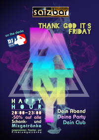 Thank God it`s Friday/DJ One