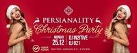 Persianality - Christmas Special in CHAYA FUERA / MO 25.DEZ 2017@Chaya Fuera