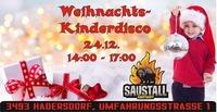 Weihnachts-Kinder-Disco@Saustall Hadersdorf