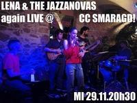 Lena and the Jazzanovas at Smaragd@Smaragd