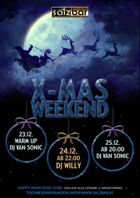 Salzbar X-Mas Party/DJ Van Sonic