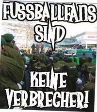 Gruppenavatar von Fußballfans sind KEINE Verbrecher!