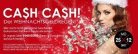 Christtag CASH CASH! Der Weihnachtsgeldregen!@Baby'O