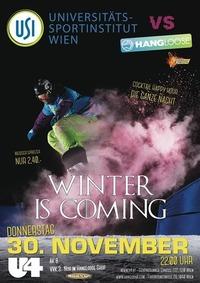 """USI Clubbing """"Winter is coming""""@U4"""
