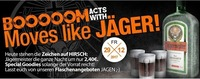 Booooom acts with MOVES like JÄGER