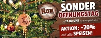 Sonderöffnungstag!@Rox Bar&Grill
